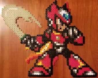 Megaman Zero Perler