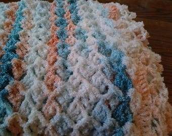 Lacy Shell Baby Blanket