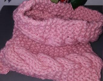 Adult Snood pink
