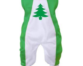 Christmas Baby onesie: Christmas tree