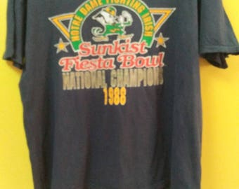 LOGO 7 INC Sunkist fiesta bowl years 1988 vintage (D)