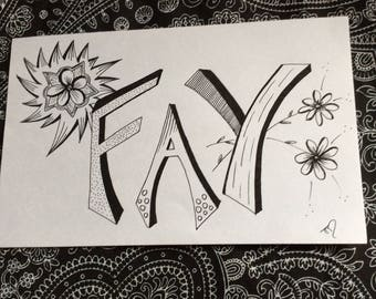 Fay - Freehand drawing
