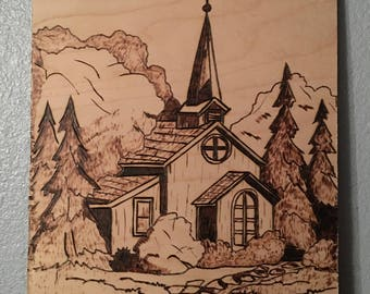 Church in the Woods Picture