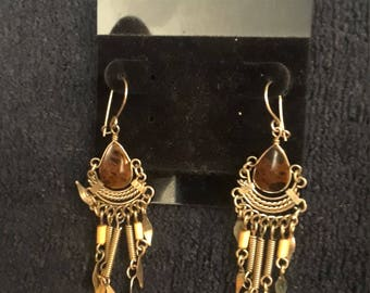 Sterling Silver Native American Earings