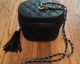 Vintage Chanel Oval Bag