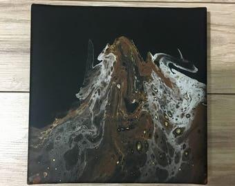 "8""x8"" acrylic painting with varnish"