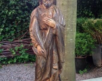 antique Walnut Apostle