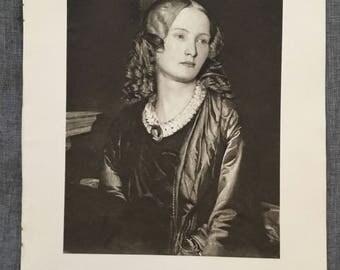 Stevens. Mrs Colemann. 1920's antique print