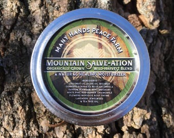 Mountain Salve-Ation (Wild-Harvest Blend)