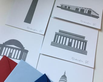 Washington DC Boxed Set A2 Stationery