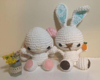 Bunny Couple Amigurumi