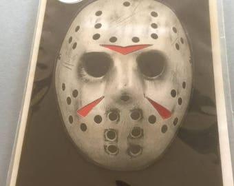 Jason Friday the 13th Greeting Card