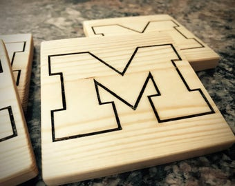 Customized Wooden Coasters