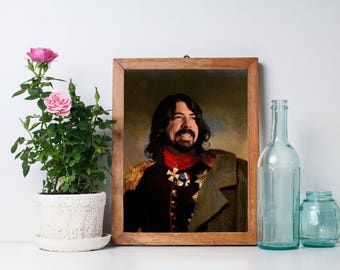 Dave Grohl Limited Artwork