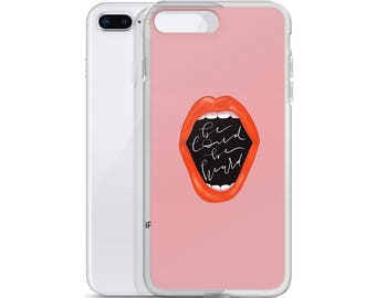 Be loud. Be heard. iPhone Case