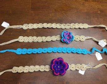 Shell Crochet Headband