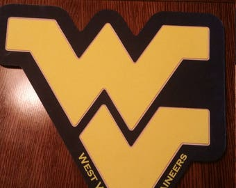 West Virginia Mountaineers Plaque