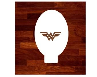 Wonder Woman Face Paint Stencil