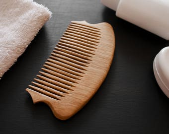 Hair Comb Wooden Comb Wood Hair Care Women Comb Pocket Comb Hair Grooming Wood Decorative Comb Hair Wood Accessories