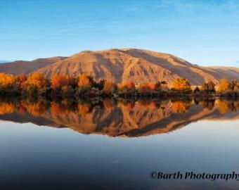 Artistic Photograph-- Snake River