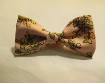 Nigel's *New* Cherry Blossom Bow Tie - Perfect for Springtime or to Wear for the Cherry Blossom Festivals!
