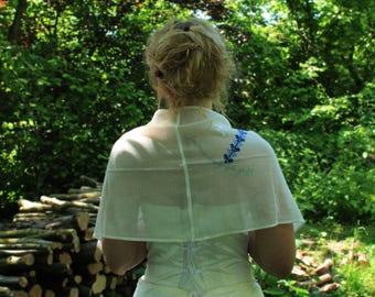 beautiful shawl scarf cloth wedding bride