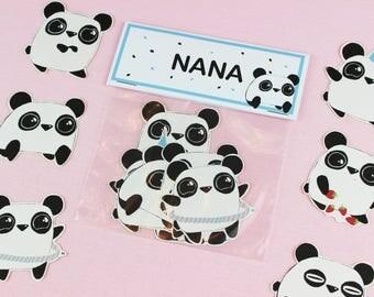 Kids Stickers / Panda Stickers / Laptop Sticker Pack / Animal Sticker / Cute Stickers / Laptop Decal / kawaii stickers / Laptop Stickers.