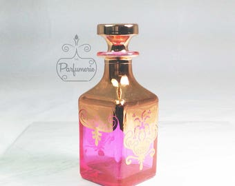 Gold Ruby Flask 200ml Apothecary Potion Wiccan Metaphysical PERFUME Cologne Bottle Gift Wholesale Beautiful Holiday Gift