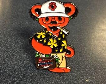 Grateful Dead / Hunter S. Thompson Hat Pin