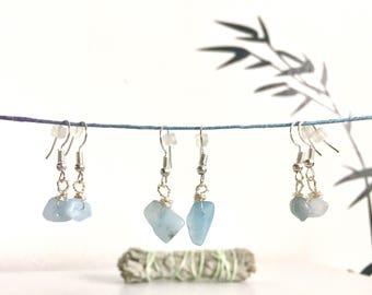 Aquamarine Hypo-Allergenic Earrings