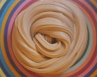 Brownie Batter Soft Clay Butter Slime, scented, borax-free