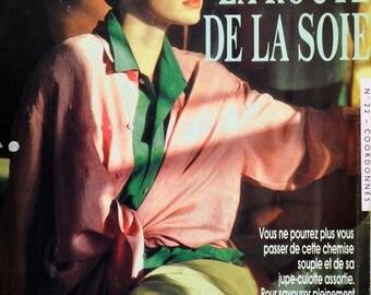 Pattern sewing set shirt + Culottes woman