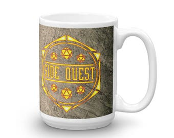 d20 Epic Side Quest Mug