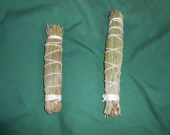 Pine smudge sticks