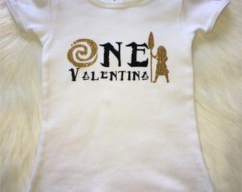 Moana inspired birthday girl first birthday shirt