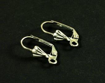 STEEL stud earrings