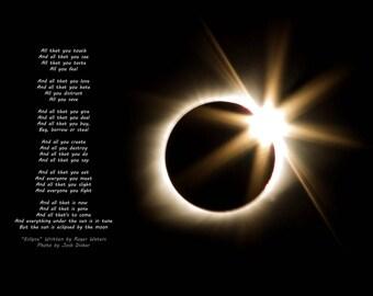 Total Solar Eclipse - Diamond Ring -  Murphysboro Illinois - The Great American Eclipse