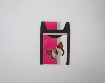 Smart Phone fuchsia Butterfly phone case
