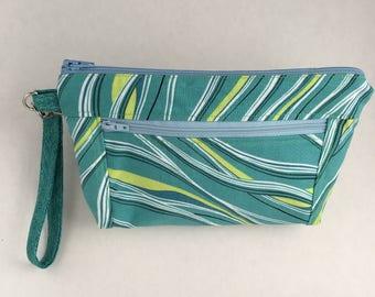 Devon Zipper Pouch, clutch, coin purse, notions bag