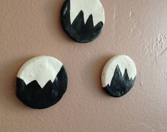 Mountain Magnets Set of 3