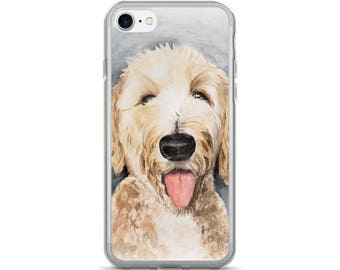 Goldendoodle iPhone Case - iPhone 7/7 Plus Phone Case