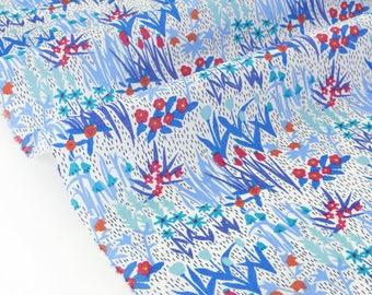 20% Liberty of London 103x137cm April Showers blue fabric