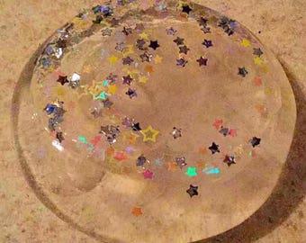 Confetti Clear slime