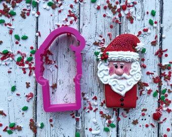 Santa Stick Cookie Cutter
