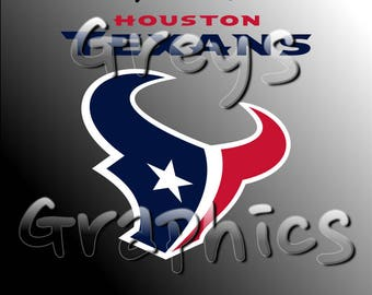 Houston Texans Primary Logo with Logotype Full Color - SVG - DXF - EPS - Vectors