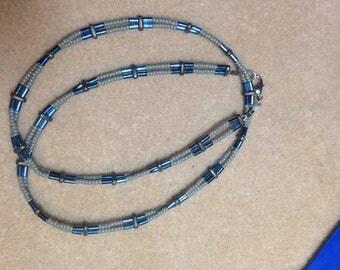 Men's Hematite Necklace