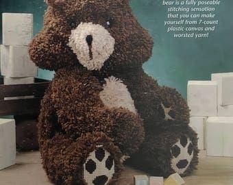 PDF Plastic Canvas Teddy Bear