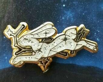Starleaper Rabbit Pin