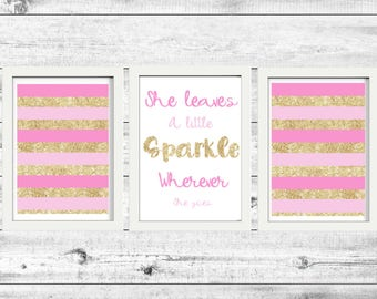 A4 Quote Wall Art Printable x 3