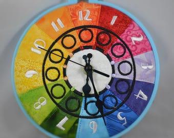 Color wheel/ rainbow clock